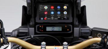 Android Auto s'invite à bord de la Honda Africa Twin