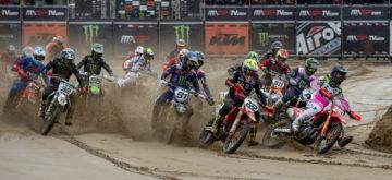 Le mondial motocross ne commencera pas en avril, mais en mai