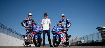 Jason Dupasquier a fait connaissance avec sa nouvelle KTM de Moto3