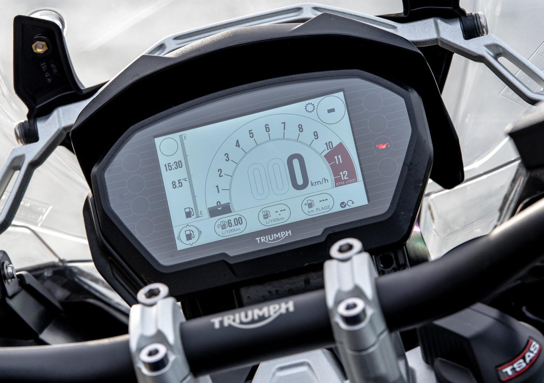 Triumph Tiger 1200 écran TFT