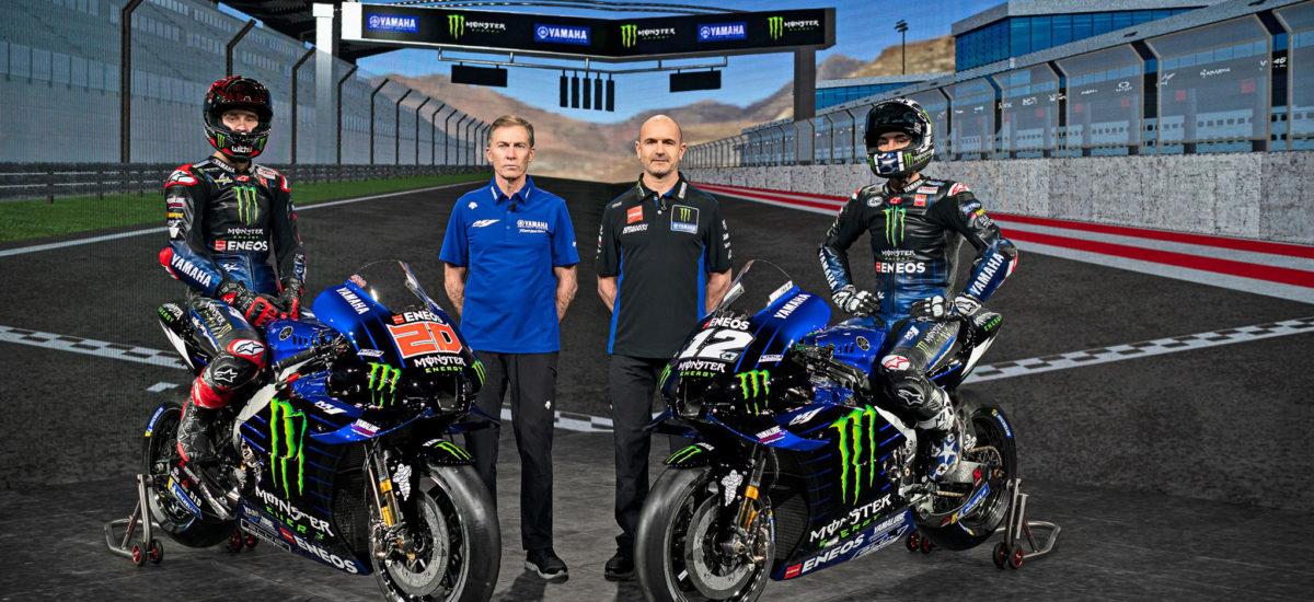 Le Monster Energy Yamaha MotoGP 2021 se dévoile