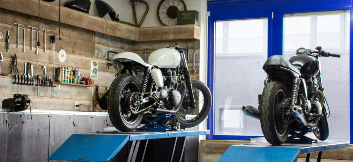 Arsenal Garage Motorcycles, phase II, à Bevaix