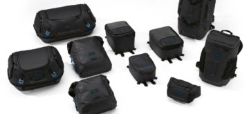 Black Collection, la nouvelle bagagerie souple de BMW Motorrad