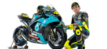 Voici les nouvelles couleurs du «Dottore» Rossi!