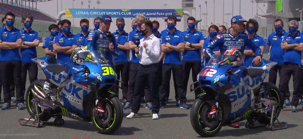 Le Team Suzuki Ecstar se dévoile en ouverture des premiers tests
