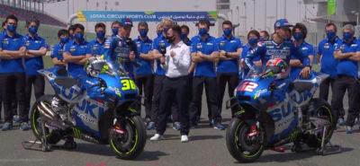 Le Team Suzuki Ecstar se dévoile en ouverture des premiers tests :: MotoGP 2021