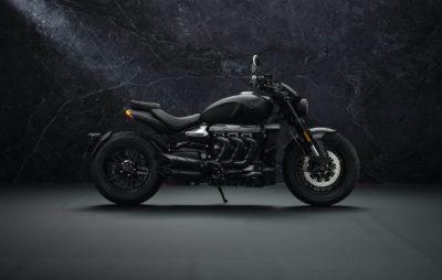 Triumph Rocket 3 Black Limited Edition – Noir, c'est noir! :: Nouveautés 2021