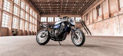 La Yamaha XSR 700 Fūjin de Bobber Garage :: Préparation Yamaha