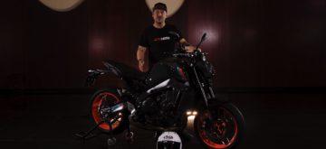 Notre essai de la nouvelle Yamaha MT-09 en Catalogne