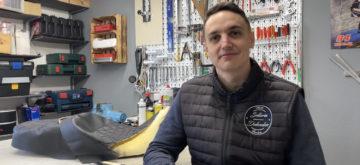 Simon Dubouloz, artisan-sellier