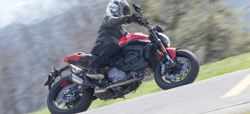 Essai: s'il ne reste qu'une Monster ce sera celle-là! :: Test Ducati :: ActuMoto