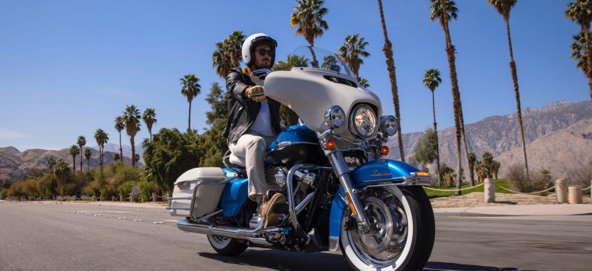Voici la première Harley «Collection Icons», l'Electra Glide Revival