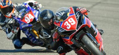 Killian Aebi se distingue lors de la 2e course à Nogaro :: FSBK Supersport 600