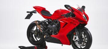 MV Agusta annonce une version «Rosso» de sa sportive F3
