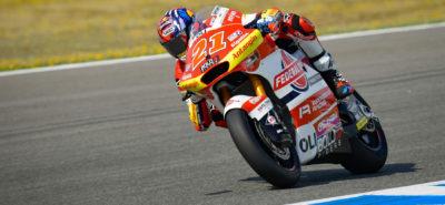 Di Giannantonio en solitaire. Lüthi en fin de classement! :: Moto 2 Jerez