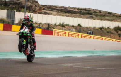 Superbike – doublé des verts à Aragon dans une course sprint humide :: Mondial Superbike