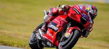 MotoGP – Miller triomphe en pneus pluie au Mans sur une piste quasi sèche!