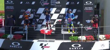 Fabio Quartararo gagne pour Jason Dupasquier
