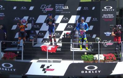 Fabio Quartararo gagne pour Jason Dupasquier :: MotoGP GP d'Italie