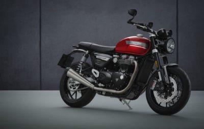 Évolution en finesse pour la Triumph Speed Twin :: Nouveauté 2021