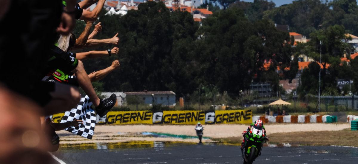 Superbike – doublé dominical pour Jonathan Rea à Estoril