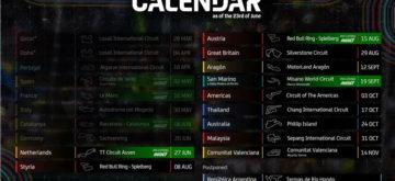 Encore une mise à jour du calendrier MotoGP 2021!