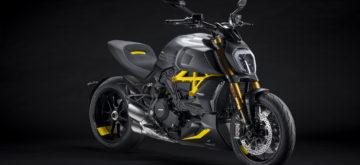 Ducati Diavel Black & Steel, avec un soupçon de jaune fashion