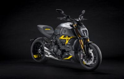 Ducati Diavel Black & Steel, avec un soupçon de jaune fashion :: Nouveauté 2021