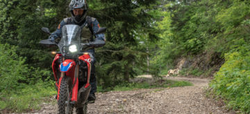 Essai – la Honda CRF 300 Rally dans le terrain
