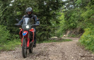 Essai – la Honda CRF 300 Rally dans le terrain :: Test Honda