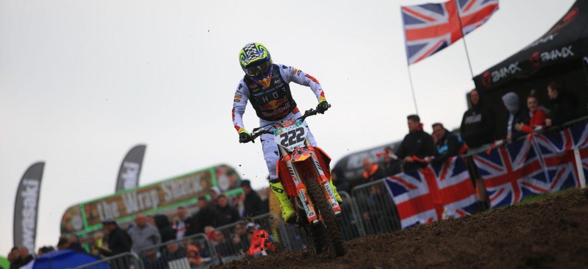 MXGP – Tony Cairoli décroche son 6ème Grand Prix de Grande Bretagne