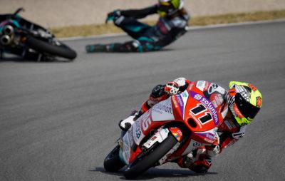 Fin de course confuse pour une victoire de Sergio Garcia :: Moto3 Catalogne