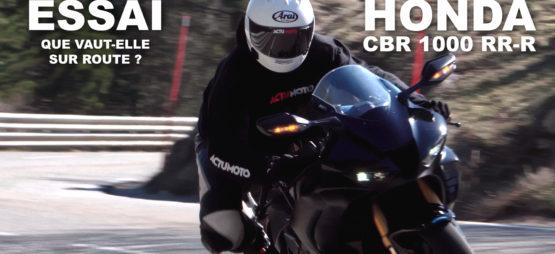 La CBR 1000 RR-R Fireblade sur route et en ville, ça donne quoi?