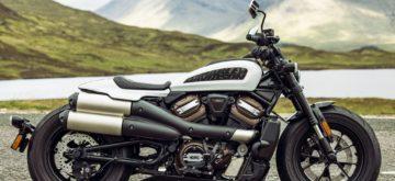 Le nouveau Sportster Harley-Davidson: 121 chevaux, 228 kilos!