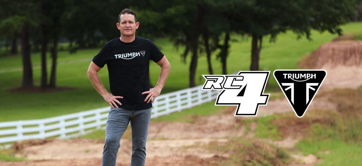Triumph se lance dans… l'enduro et le motocross!