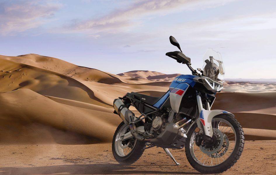 Premières infos sur la nouvelle Aprilia Tuareg