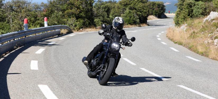 Le Custom CMX 1100 Rebel propose mieux que des balades «pépère»! :: Test Honda :: ActuMoto