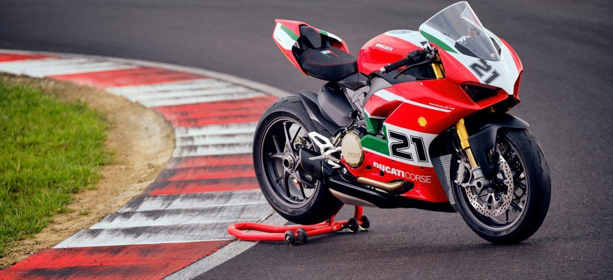 Une Ducati Panigale V2 «Troy Bayliss» en série limitée