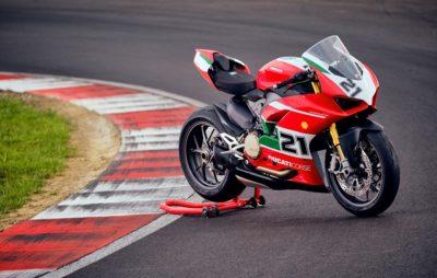 Une Ducati Panigale V2 «Troy Bayliss» en série limitée :: Nouveauté 2021