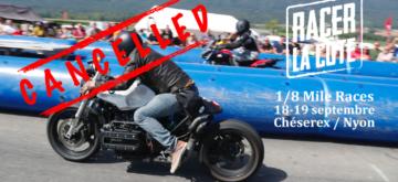 L'édition 2021 du Racer La Côte est annulée