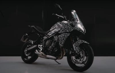 Triumph tease une nouvelle Tiger Sport 660! :: Nouveautés