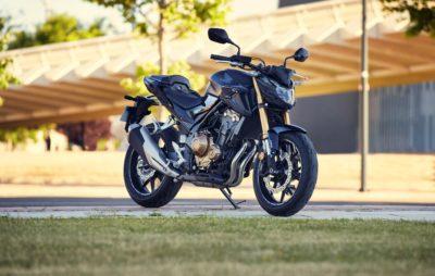 Un train avant plus costaud pour la Honda CB 500 F :: Nouveauté 2022