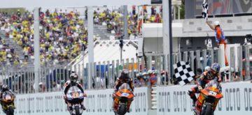Victoire en Moto2 de Raul Fernandez, malgré la douleur à la main