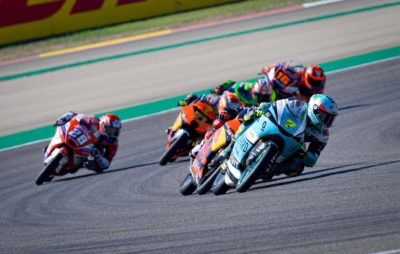 Moto 3 – Dennis Foggia devant Öncü et Sasaki à Aragon :: Mondial Moto3
