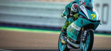Dennis Foggia à Misano, pour un podium italien en Moto3