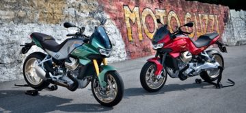 La V100 Mandello, la nouvelle Moto Guzzi refroidie par liquide