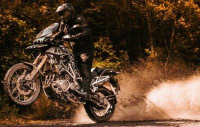 La Tiger 1200 2022 sera plus légère, plus agile et plus puissante! :: Prototype Triumph