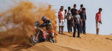 Après les premières étapes du Rallye du Maroc, le team KTM mène la danse, et le Suisse Monnin progresse